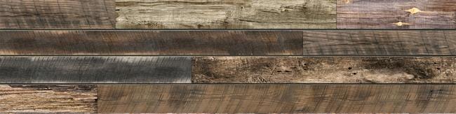 Textured Woodgrain Slatwall Cedar Spruce Walnut